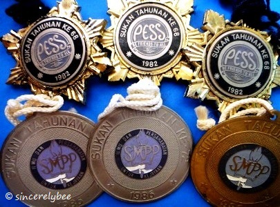 Other sports medals.